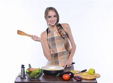 外国人女性 調理
