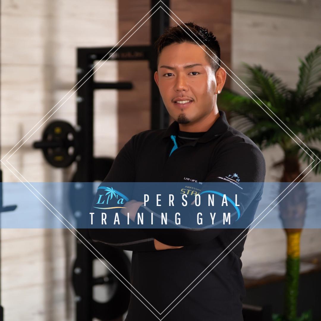 リア平針店の男性トレーナーの写真