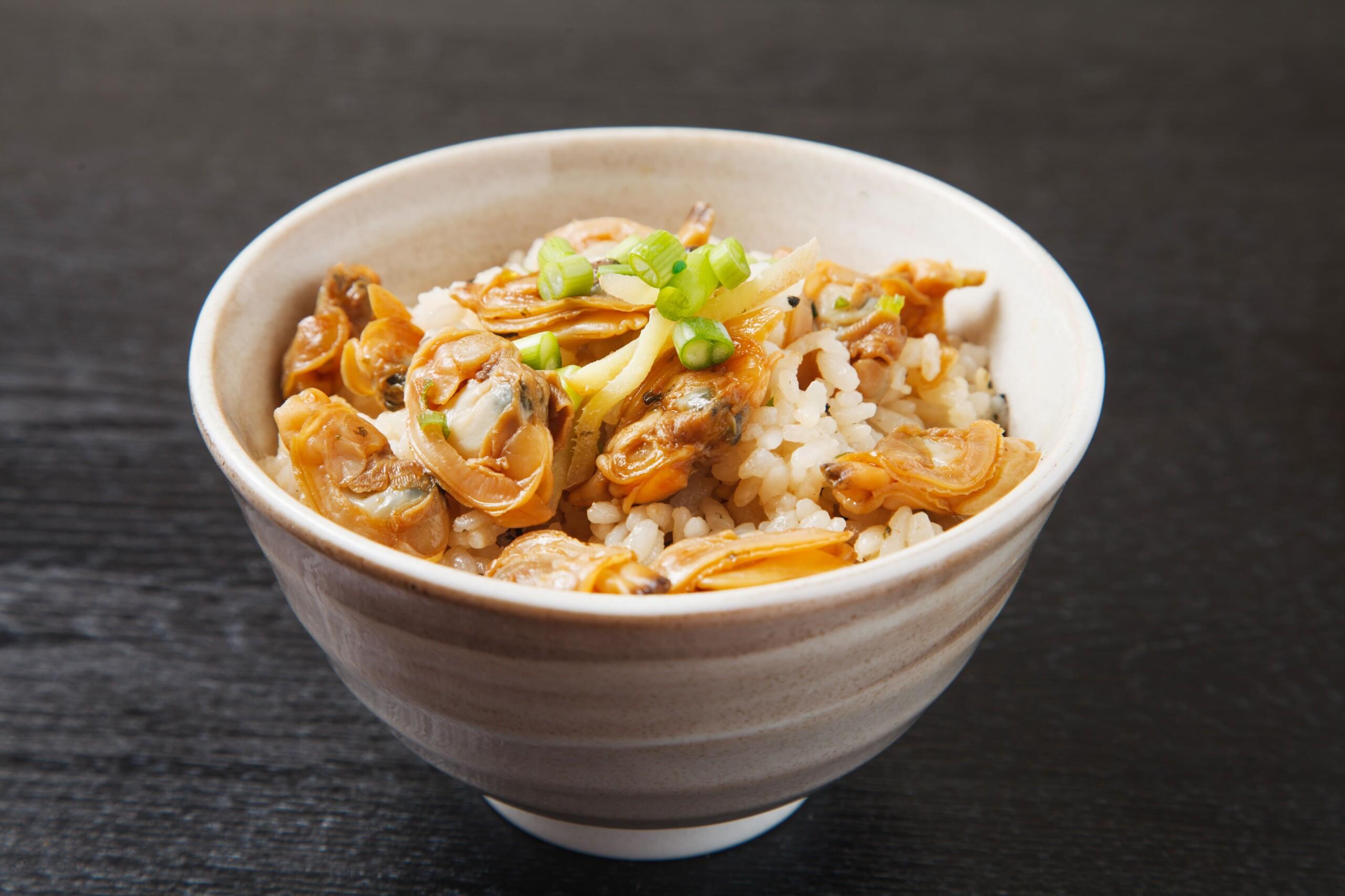シジミの炊き込みご飯
